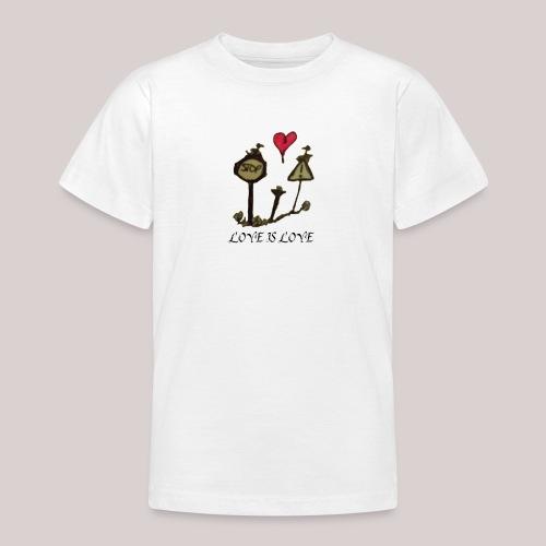 Love is Love - Teenage T-shirt