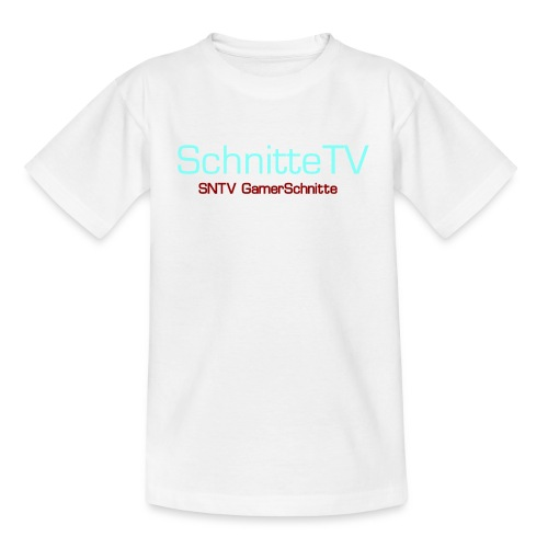 SchnitteTV SNTV GamerSchnitte - Teenager T-Shirt