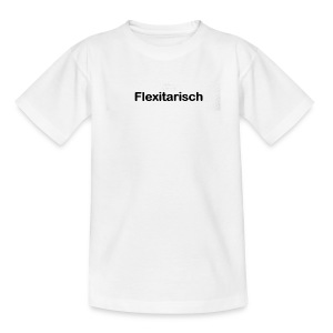Flexitarisch - Teenager T-Shirt
