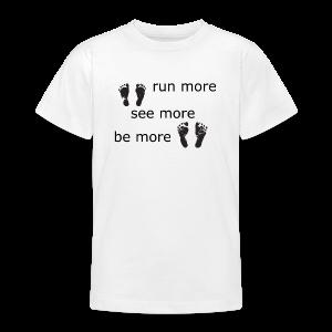 Run Collection - T-skjorte for tenåringer