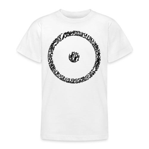 Wegzeichen Ziel erreicht- Stift - Farbe wählbar - Teenager T-Shirt