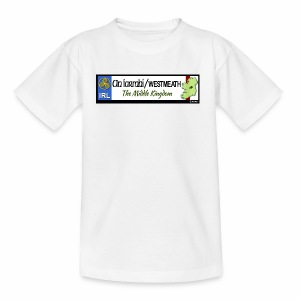 WESTMEATH, IRELAND: licence plate tag style decal - Teenage T-shirt