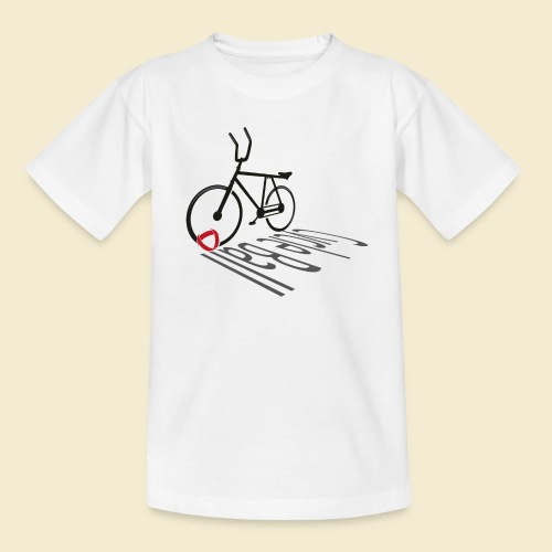 Radball | Cycleball Shadow - Teenager T-Shirt