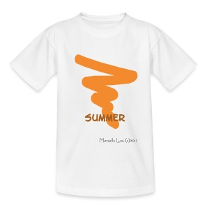 Streetworker Art by Marcello Luce - Summer 2017 - Teenager T-Shirt