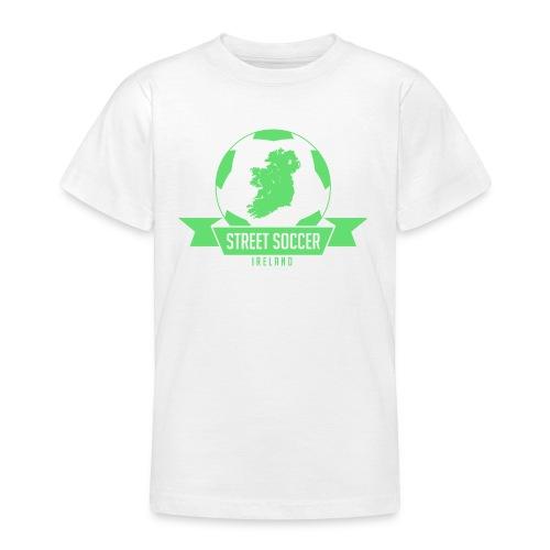 Street Soccer Ireland - Teenage T-shirt