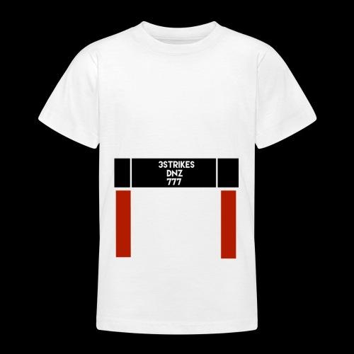 """""""DNZ"""" 777 x 3STRIKES - T-shirt tonåring"""