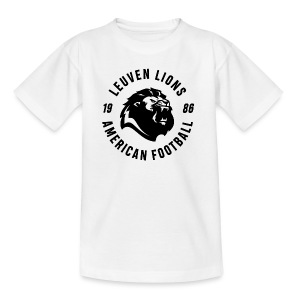 Lions old school black - Teenage T-shirt