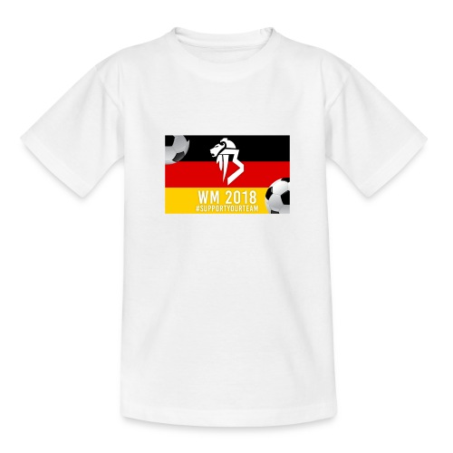 BaNg Logo + Bälle - Teenager T-Shirt