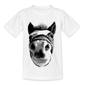 Funny Horse - Teenager T-Shirt