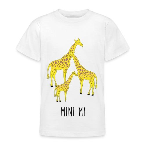 Giraffen Familie - Teenager T-Shirt
