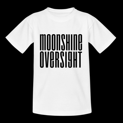 Moonshine Oversight noir - T-shirt Ado