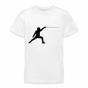 Fencer - Teenager T-Shirt
