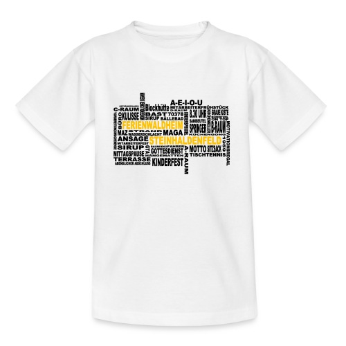 FWH - Wortwolke - Teenager T-Shirt