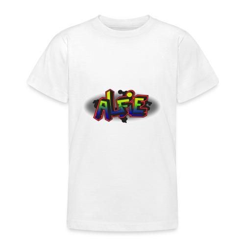alfie Rainbow design - Teenage T-Shirt