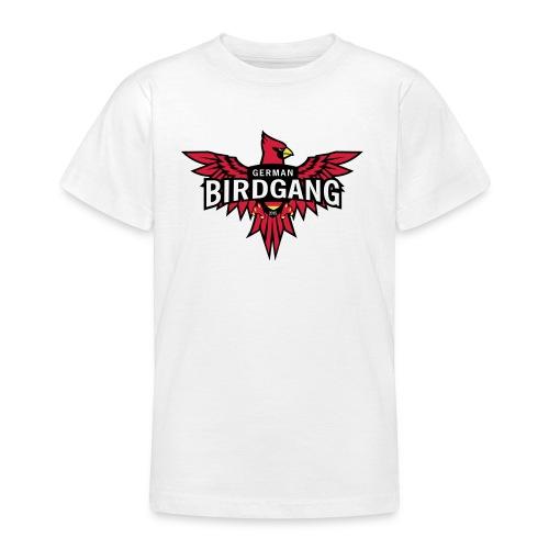 German Birdgang Logo White - Teenager T-Shirt