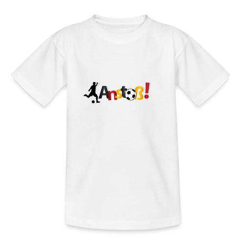 Anstoß - Teenager T-Shirt