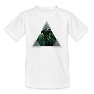 Triangle Forest window - Teenage T-shirt