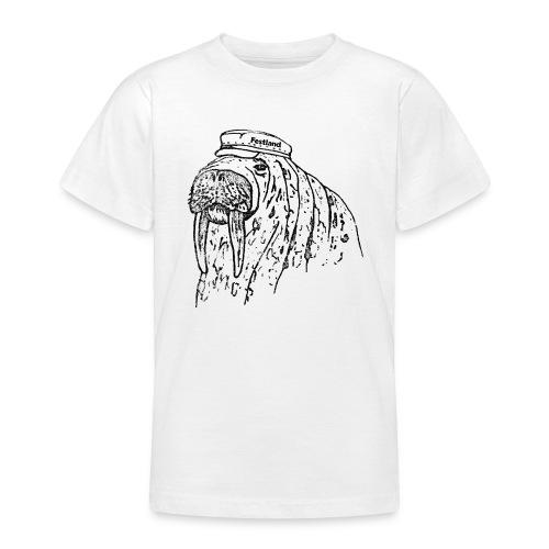 festland walrus - Teenager T-Shirt