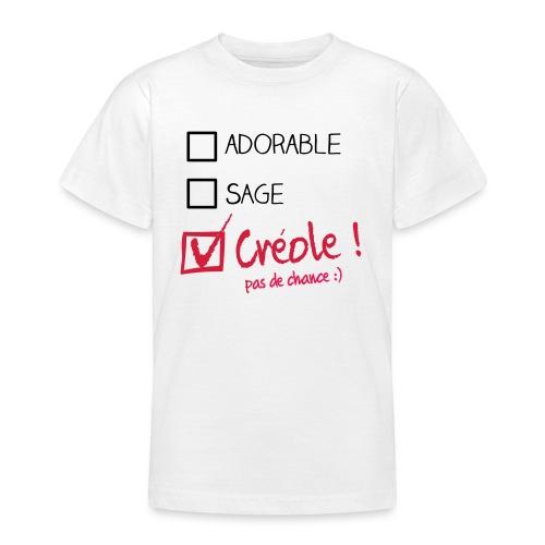 kreol mieux que parfait enfant - T-shirt Ado