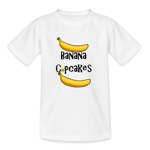 Banana Cupcake - Teenage T-shirt