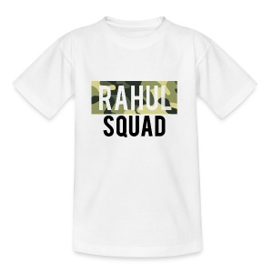 RahulSquad Official Camo T-Shirt - Teenage T-shirt