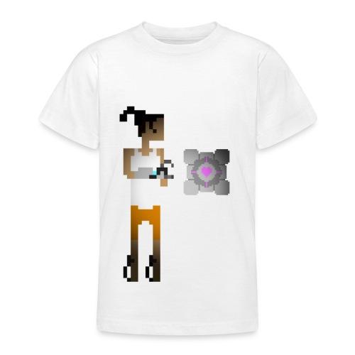 chell 2D - Teenager T-shirt