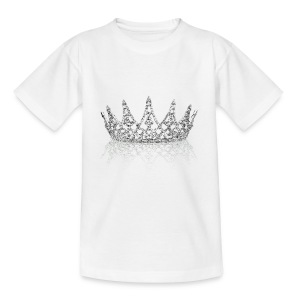 Queen crown design - Teenage T-shirt