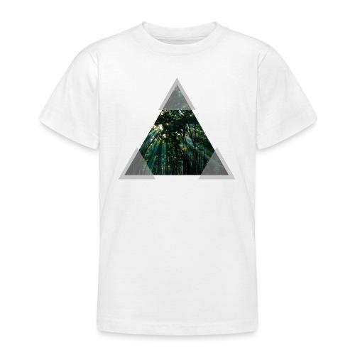 Triangle Forest window - Teenage T-shirt