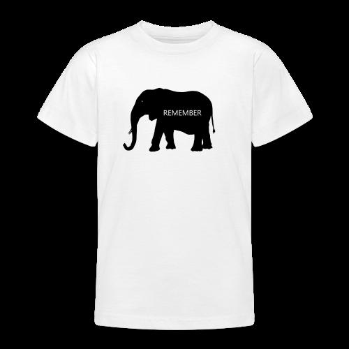 Elephant Collection - T-skjorte for tenåringer