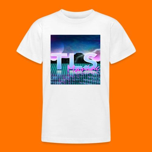80s Themed TLS Maniac Logo - Teenage T-shirt
