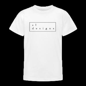 sldesigns Collection - T-skjorte for tenåringer