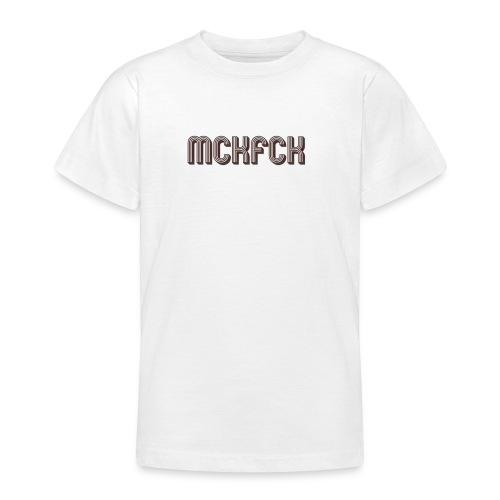 MCKFCK Logo - Teenager T-Shirt