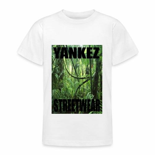 Yankez Backprint Jungle - Teenager T-Shirt