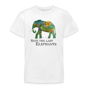 Save The Last Elephants - Teenager T-Shirt