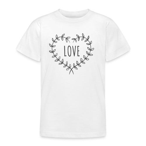 Heart Love - Koszulka młodzieżowa