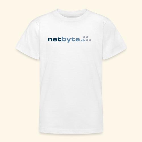 netbyte.dk logo - Teenager-T-shirt