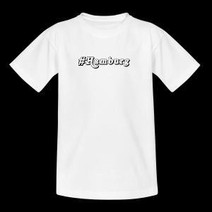 #Hamburg - Teenager T-Shirt