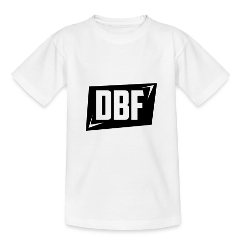DBF Logo Text - Teenage T-shirt