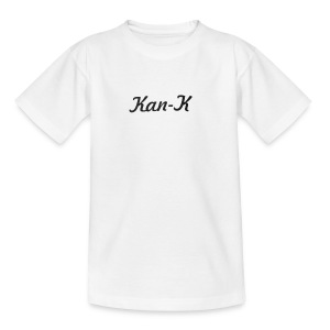 Kan-K text merch - Teenage T-shirt