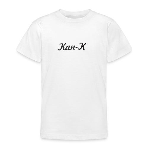Kan-K text merch - Teenage T-shirt