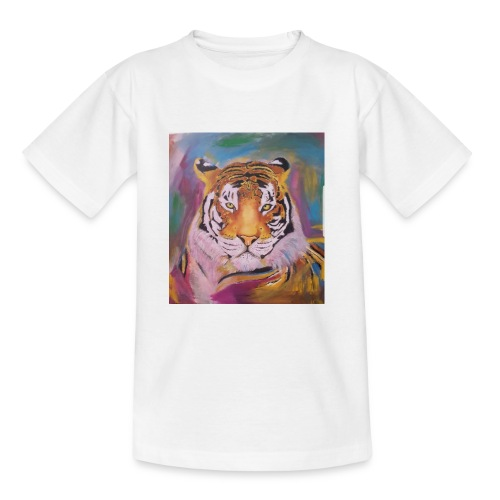 The Tiger Of Diffrent Shades - T-shirt tonåring