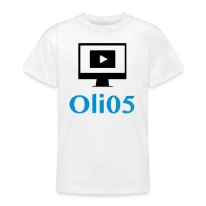 Oli05 - T-skjorte for tenåringer