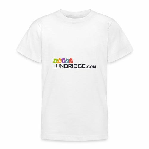 Funbridge logo - Teenage T-Shirt