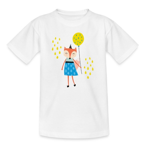 Fuchs - Ballon - Teenager T-Shirt