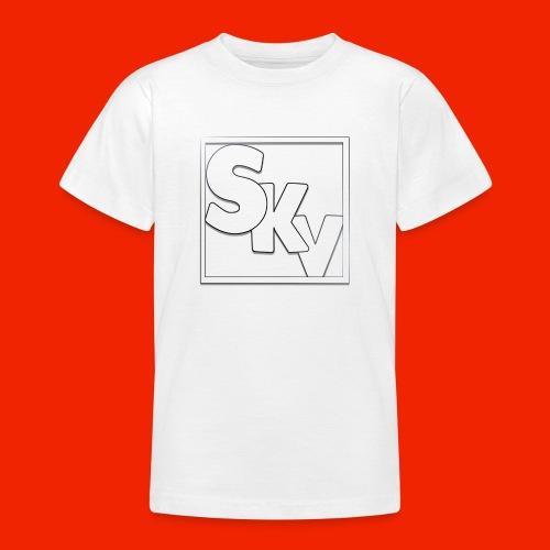 SerkanKetchupVlogs Logo (SKV Logo) - Teenager T-shirt