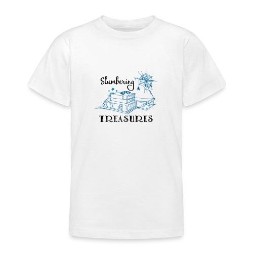 Slumbering Treasures - Black - Teenage T-Shirt