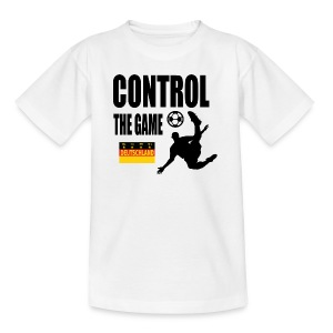 Control the game Deutschland zwart - Teenager T-shirt