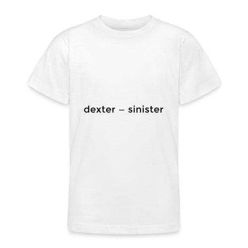 dexter sinister - T-shirt tonåring