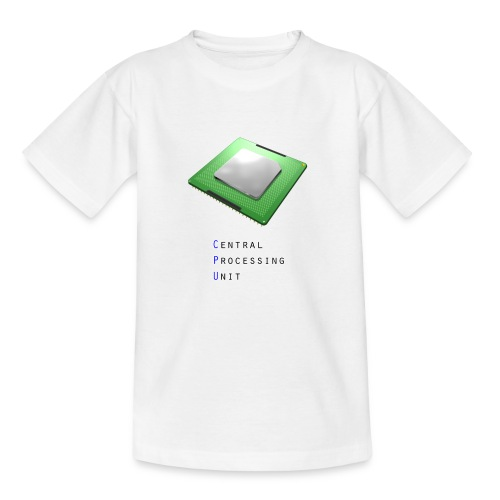 CPU - Central Processing Unit - Teenager T-Shirt