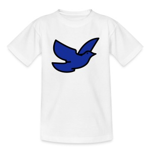 blue bird - Teenage T-shirt